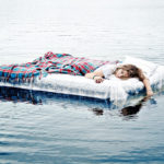 bed in water